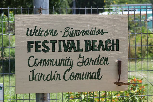 Festival Beach Community Garden Photo by Gabino Iglesias